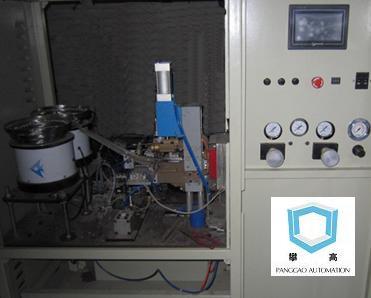 双工位自动焊接机(自动上料碰焊机)