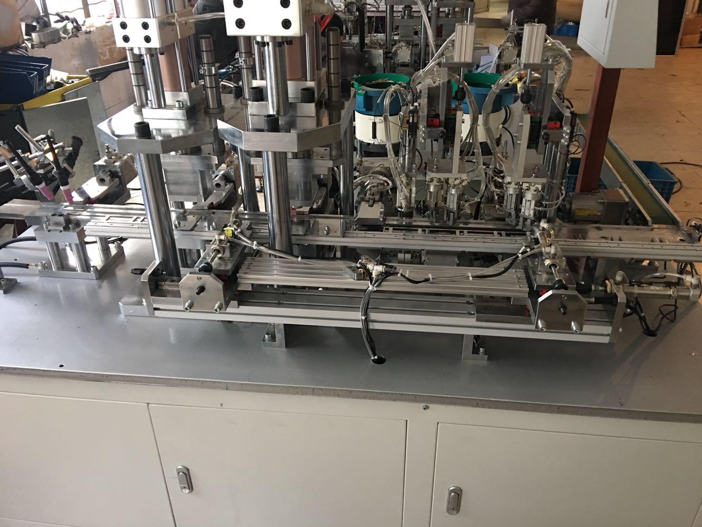 电机定子短路环自动穿环装配机