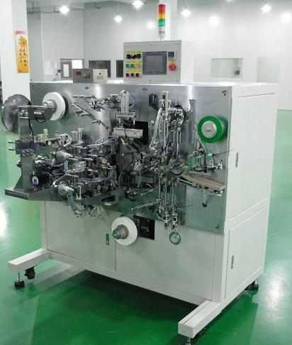 圆柱锂离子电池全自动卷绕机(锂锰全自动卷绕机